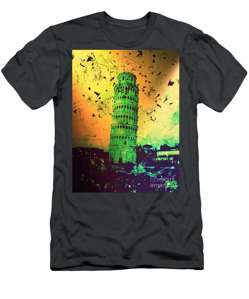 Leaning Tower Of Pisa 32 Men's T-Shirt (Athletic Fit)