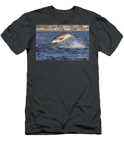 Jolly Jumper - Bottlenose Dolphin #40 Men's T-Shirt (Athletic Fit)