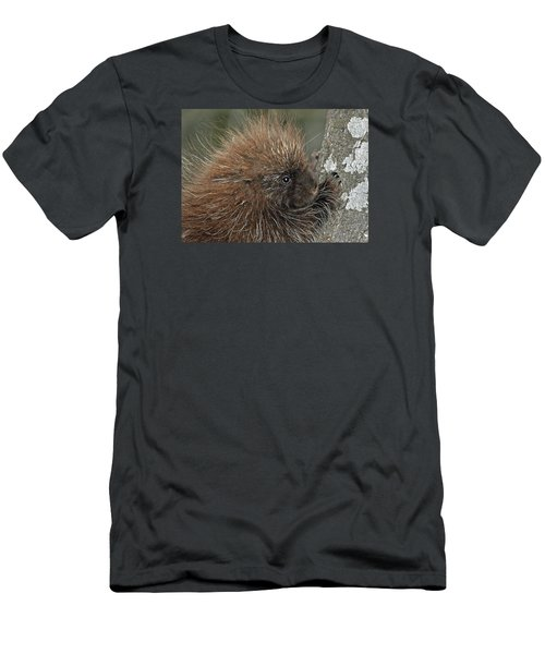 Men's T-Shirt (Slim Fit) featuring the photograph Learning To Climb by Glenn Gordon