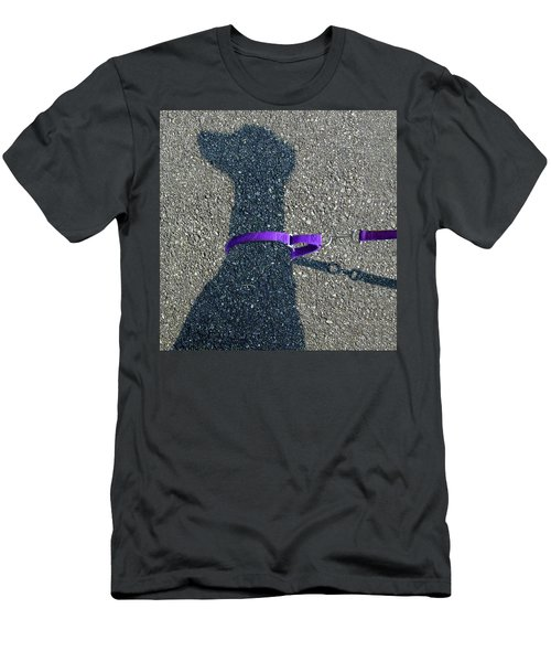 Leash Required On Sunny Days Men's T-Shirt (Athletic Fit)