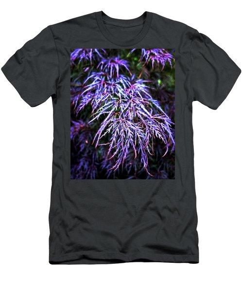 Leaves In The Light Men's T-Shirt (Slim Fit) by Robert FERD Frank