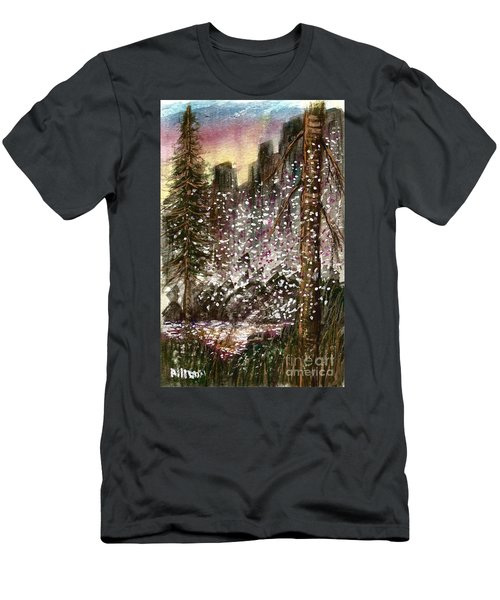 Leaves Of Change  Men's T-Shirt (Athletic Fit)