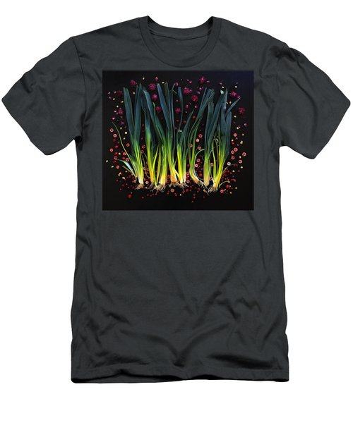 Leeks Men's T-Shirt (Athletic Fit)