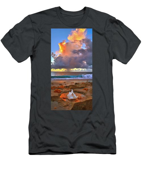 Left Behind - From Singer Island Florida. Men's T-Shirt (Athletic Fit)