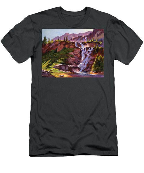 Legend Falls Men's T-Shirt (Athletic Fit)