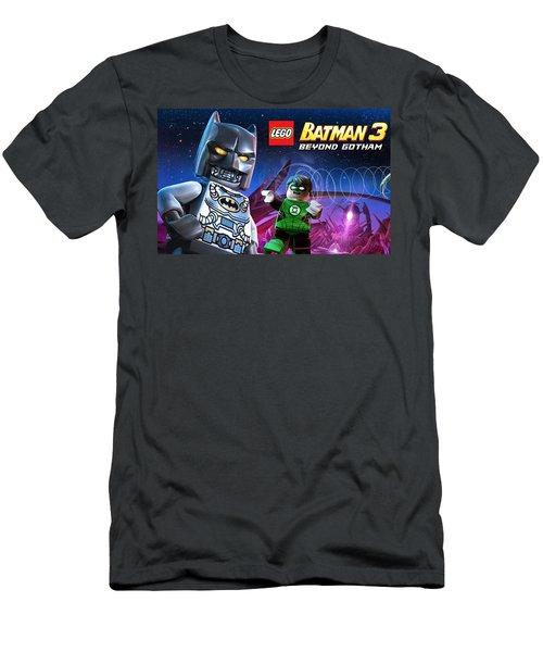 Lego Batman 3 Beyond Gotham Men's T-Shirt (Athletic Fit)