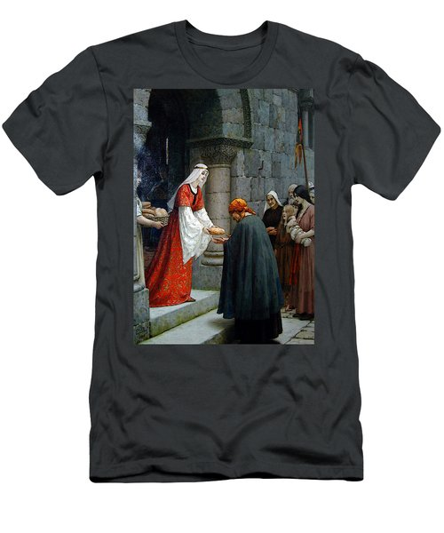 Leighton Edward Blair Charity Of St Elizabeth Of Hungary Men's T-Shirt (Athletic Fit)