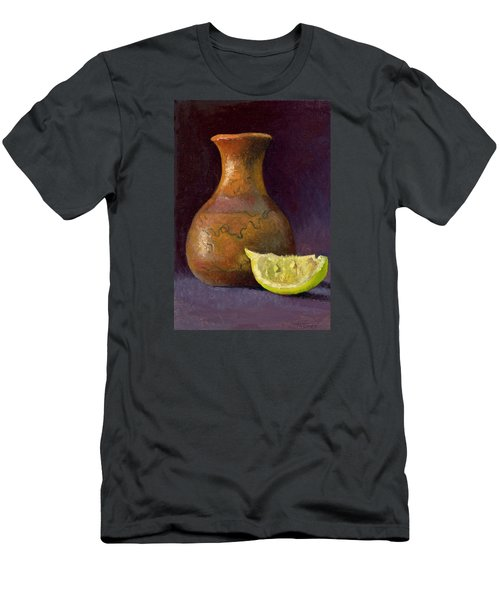 Lemon And Horsehair Vase A First Meeting Men's T-Shirt (Slim Fit) by Catherine Twomey