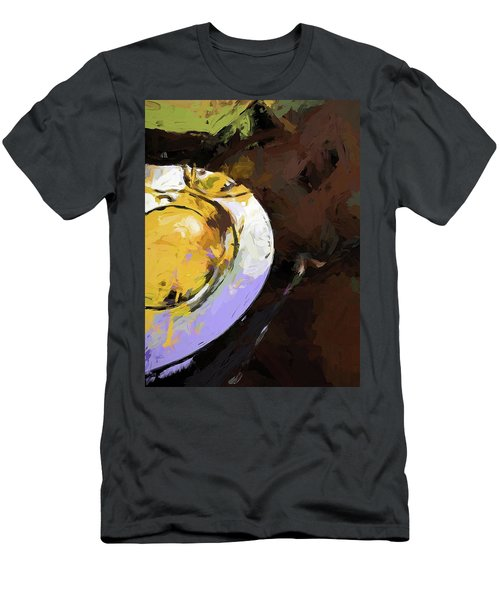 Lemon Bowl Fork Green Men's T-Shirt (Athletic Fit)