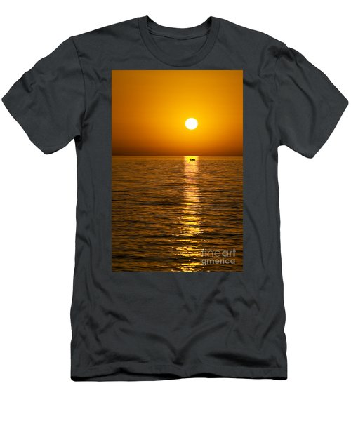 Lesvos Sunset Men's T-Shirt (Athletic Fit)
