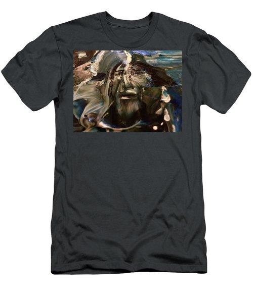 Let Go The Anchor Men's T-Shirt (Athletic Fit)