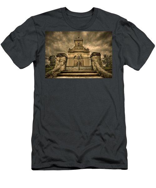 Let Love In Men's T-Shirt (Athletic Fit)