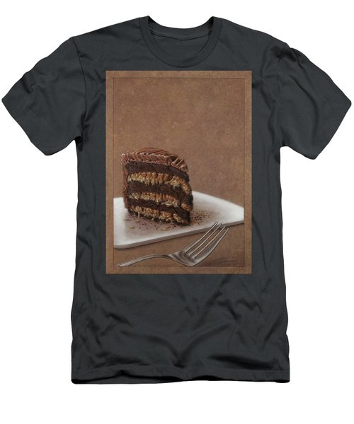 Let Us Eat Cake Men's T-Shirt (Athletic Fit)