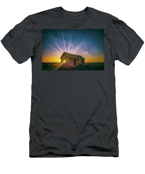 Men's T-Shirt (Athletic Fit) featuring the photograph Let Your Light Shine by Darren White