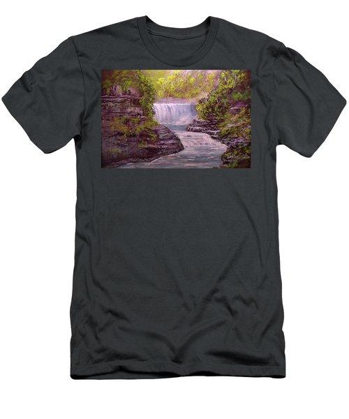 Letchworth State Park Men's T-Shirt (Athletic Fit)
