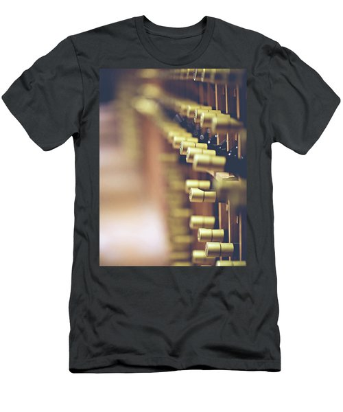 Men's T-Shirt (Slim Fit) featuring the photograph Let's Crack One Open by Trish Mistric