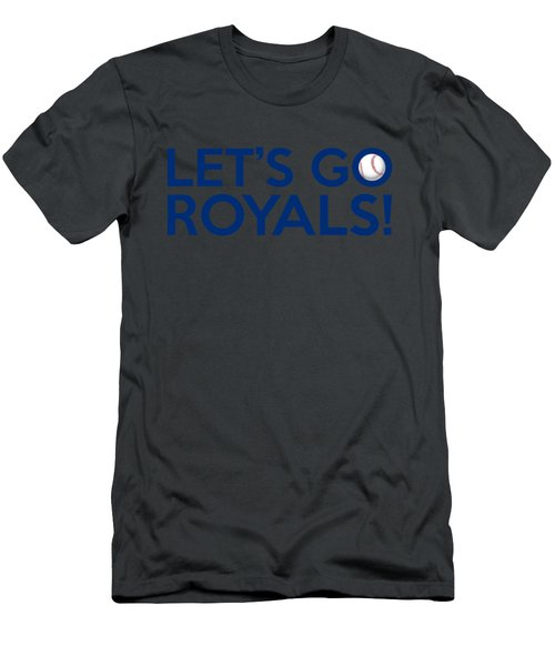 Let's Go Royals Men's T-Shirt (Athletic Fit)