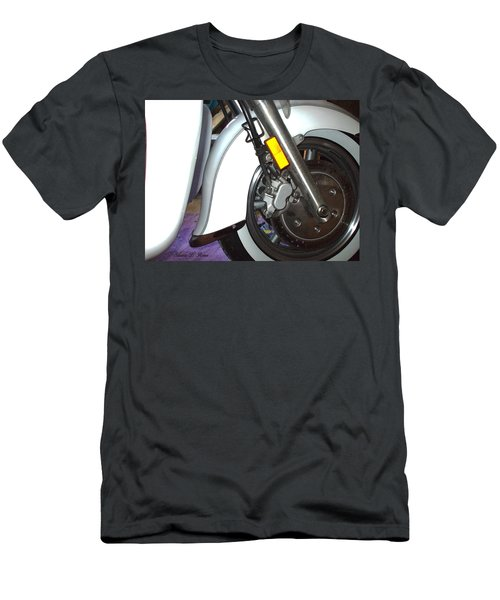 Men's T-Shirt (Slim Fit) featuring the photograph Lets Roll by Shana Rowe Jackson