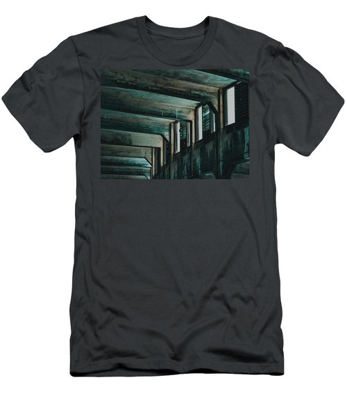 Men's T-Shirt (Athletic Fit) featuring the photograph Letting In The Light by Melissa Lane