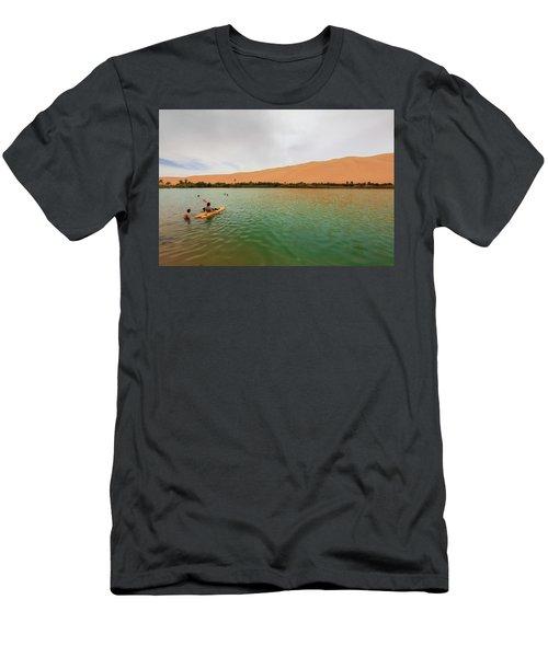 Libyan Oasis Men's T-Shirt (Athletic Fit)