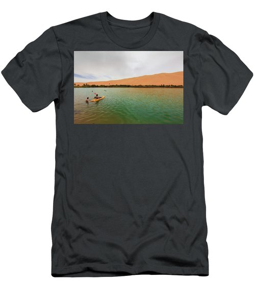 Libyan Oasis Men's T-Shirt (Athletic Fit)