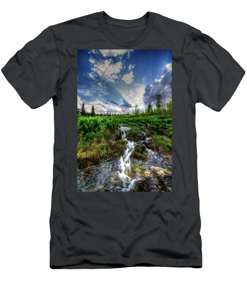 Life Giving Stream Men's T-Shirt (Athletic Fit)