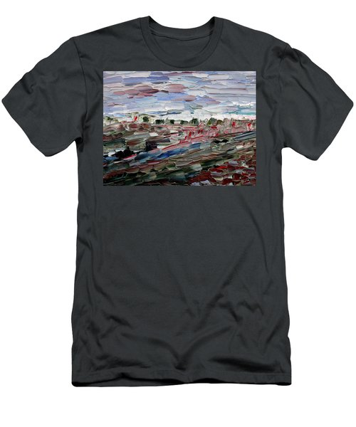 Life Goes On Men's T-Shirt (Slim Fit) by Vadim Levin