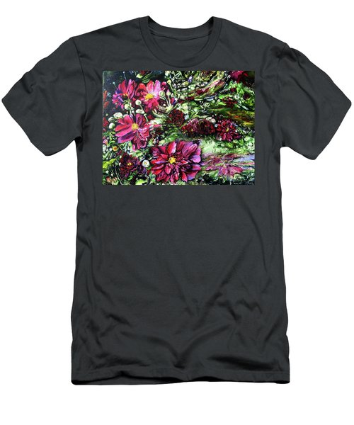 Life In A Bloom Field Men's T-Shirt (Athletic Fit)
