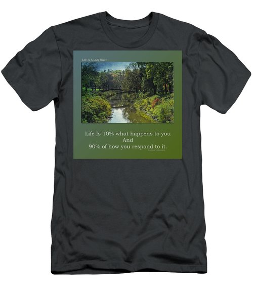 Life Is A Lazy River Men's T-Shirt (Athletic Fit)