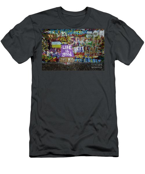 Men's T-Shirt (Athletic Fit) featuring the photograph Life Is Good by M G Whittingham