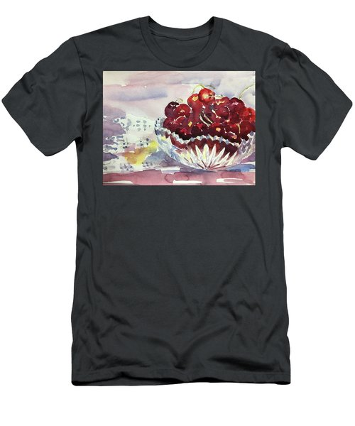 Life Is Just A Bowl Of Cherries Men's T-Shirt (Athletic Fit)