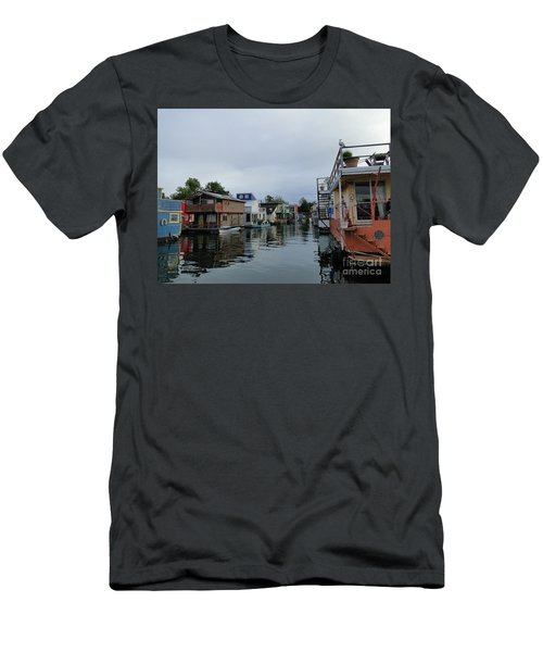 Life On The Water Men's T-Shirt (Slim Fit) by Cindy Croal