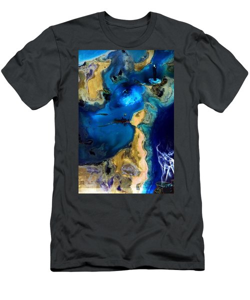 Life Stream Men's T-Shirt (Athletic Fit)
