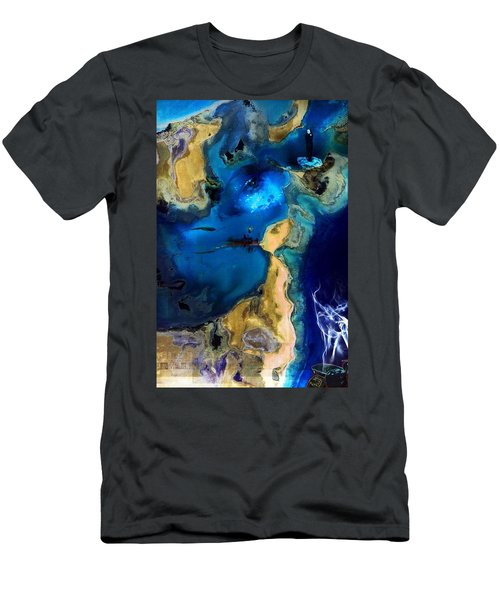 Life Stream Men's T-Shirt (Slim Fit)