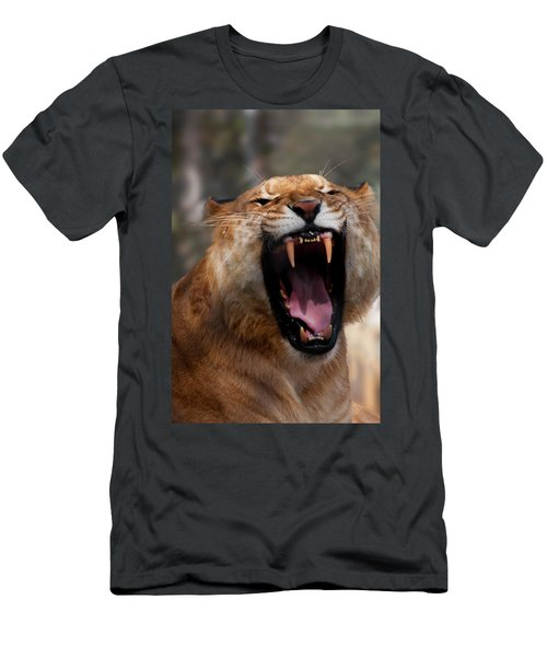Men's T-Shirt (Athletic Fit) featuring the photograph Liger by Chris Flees
