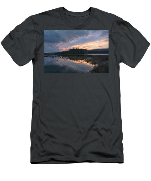 Light And Dark Men's T-Shirt (Athletic Fit)
