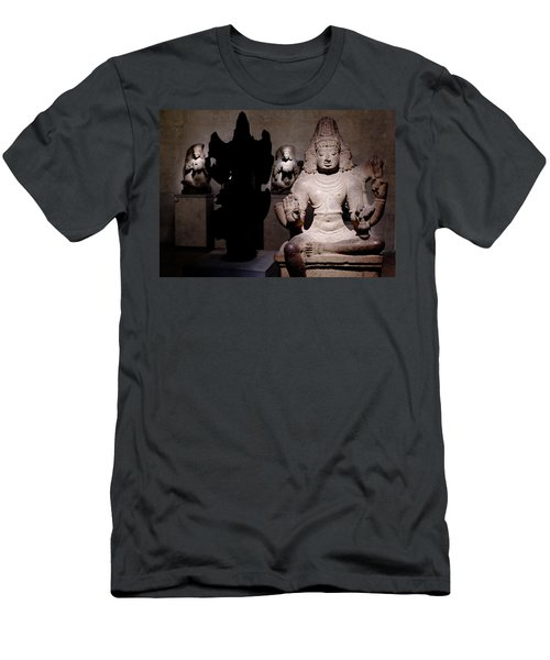 Men's T-Shirt (Athletic Fit) featuring the photograph Light And Darkness by August Timmermans