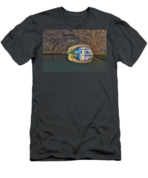 Light At The End Of The Tunnel Men's T-Shirt (Slim Fit) by Frans Blok