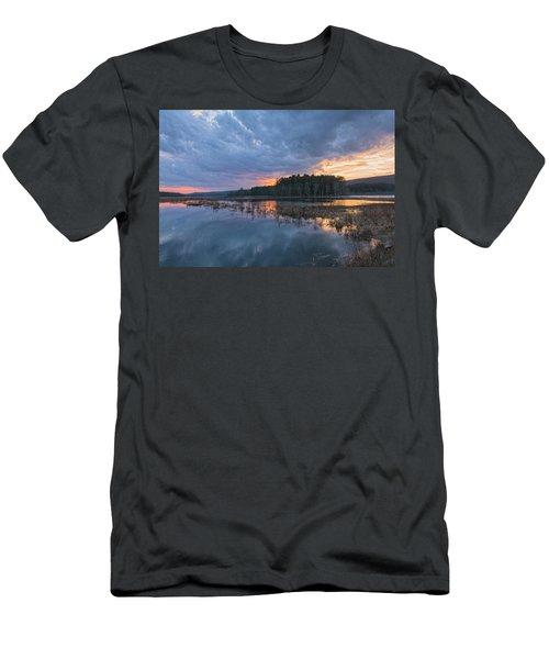 Light Cycles Men's T-Shirt (Athletic Fit)