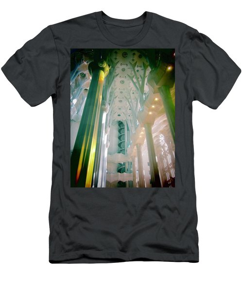 Men's T-Shirt (Slim Fit) featuring the photograph Light Dancing On The Ceiling by Christin Brodie