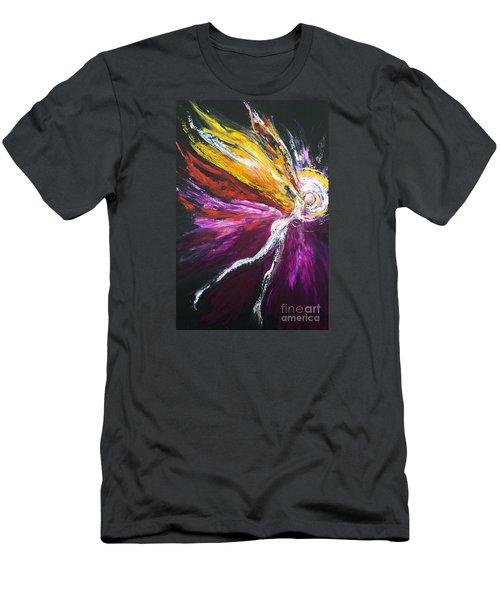 Light Fairy Men's T-Shirt (Slim Fit) by Marat Essex