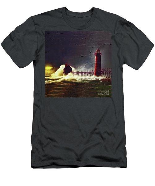 Light House 07 Men's T-Shirt (Slim Fit) by Gull G
