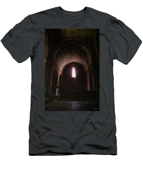 Men's T-Shirt (Athletic Fit) featuring the photograph Light Of God by Rasma Bertz