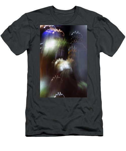 Light Paintings - No 4 - Source Energy Men's T-Shirt (Athletic Fit)