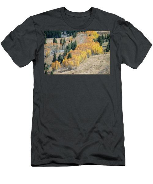 Light Snow On Aspen Men's T-Shirt (Athletic Fit)