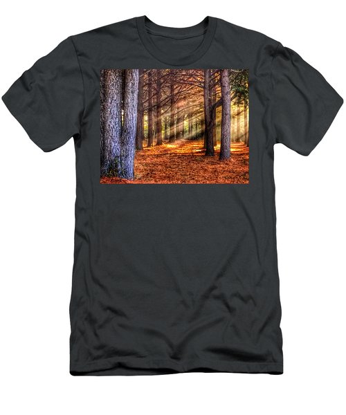 Light Thru The Trees Men's T-Shirt (Athletic Fit)