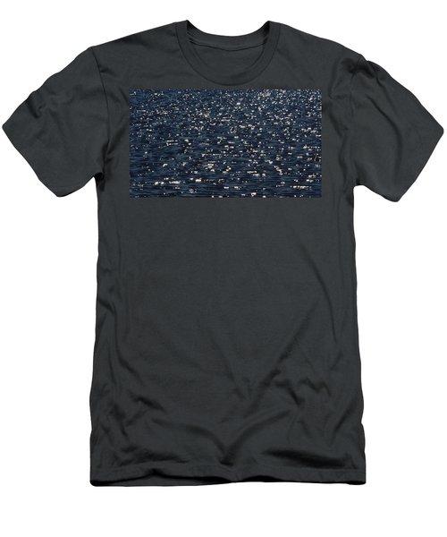 Light Waves #3 Men's T-Shirt (Slim Fit) by Tim Good