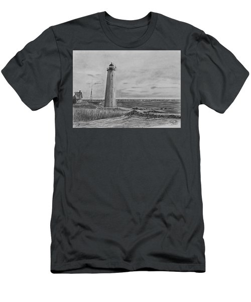 Lighthouse Point Men's T-Shirt (Athletic Fit)