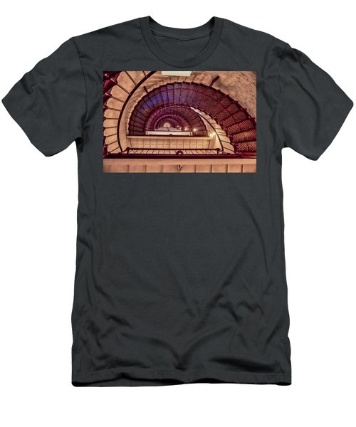 Lighthouse Stairwell Men's T-Shirt (Athletic Fit)
