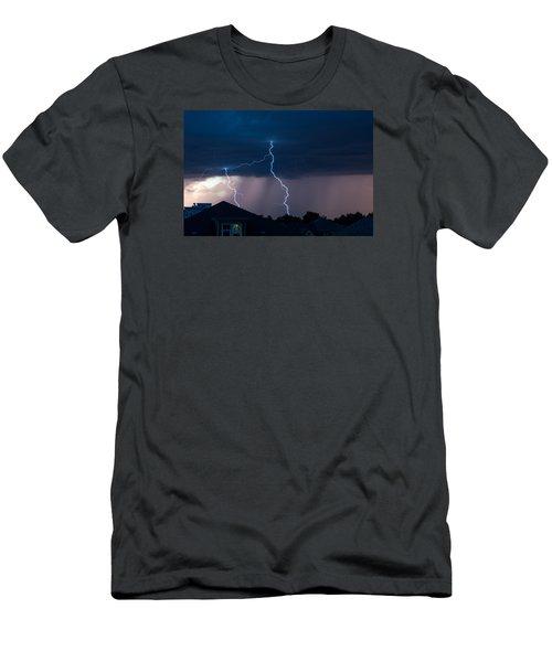 Lightning 2 Men's T-Shirt (Athletic Fit)